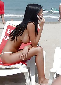 Some images of Hot amateur Teens&Babes On the beach MIXeD