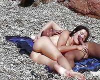Horny nudist girls showing pussies & tits Beach teen 8