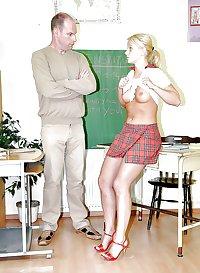 Good Moaning little school girl!