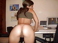 amateur butt compil 4