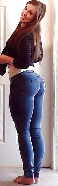 Best of sexy teen butts & ass in tight Blue Jeans