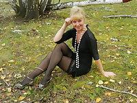 Cross-legged sexy women collection